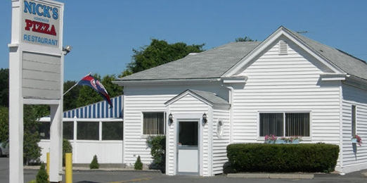 Find Nick's Pizza at 27 County Road in Mattapoisett.