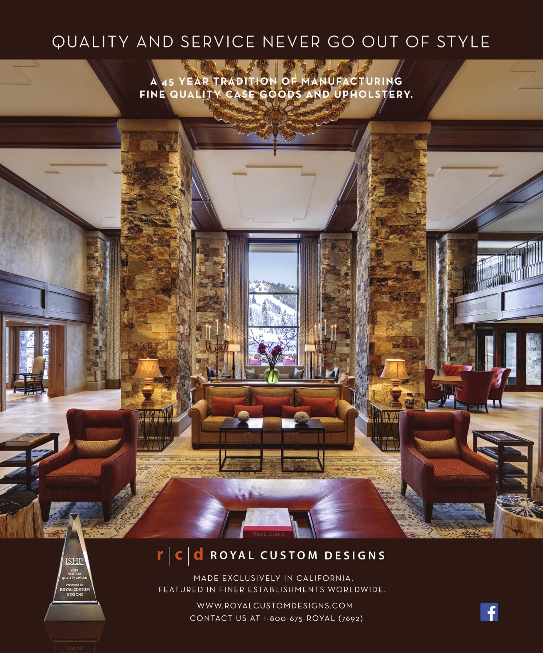 Hospitality Design September 2016