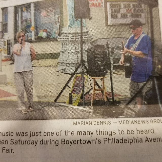 We are local celebrities now!!!