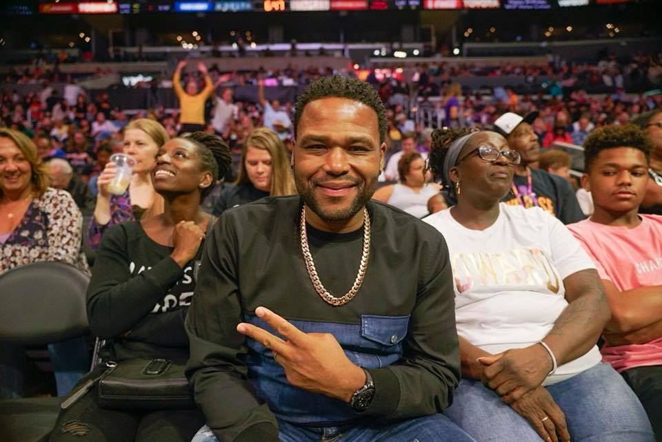 Anthony Anderson, 2017.