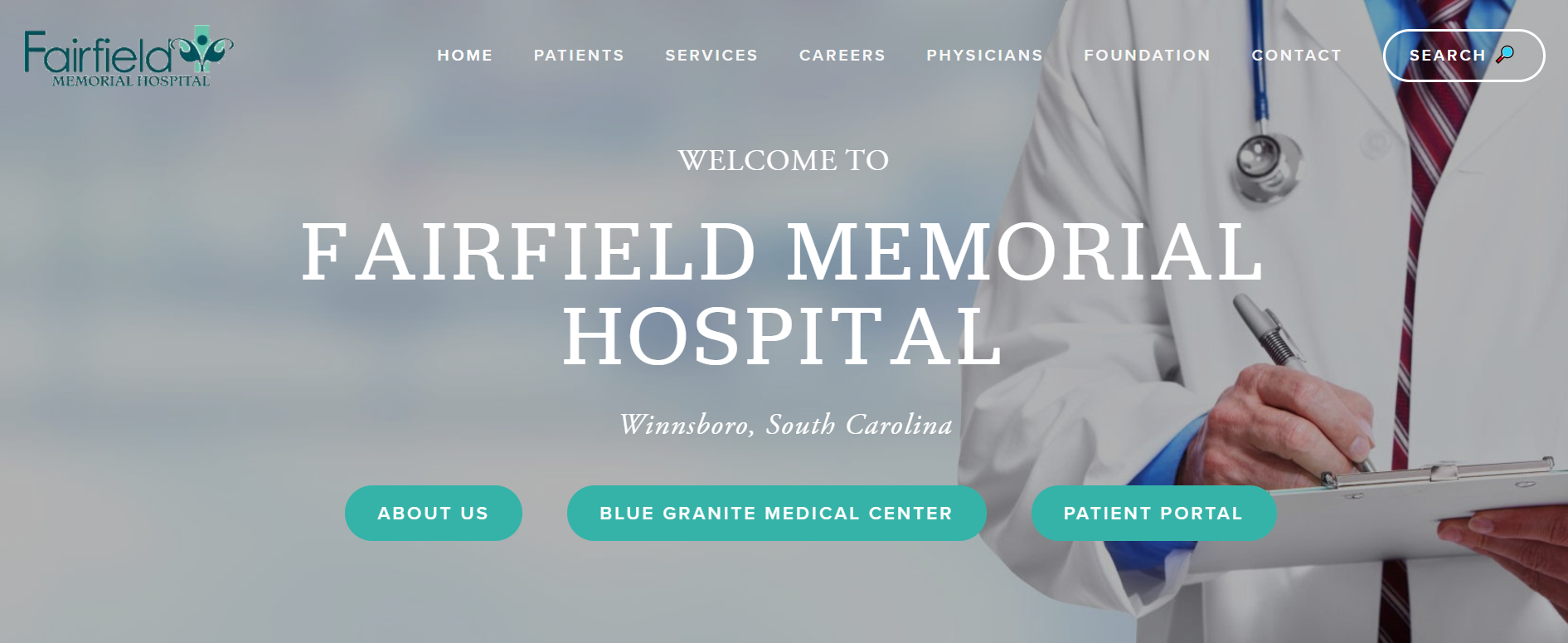 Fairfield Memorial Hospital - Modern Medicine. Old Fashioned Care.