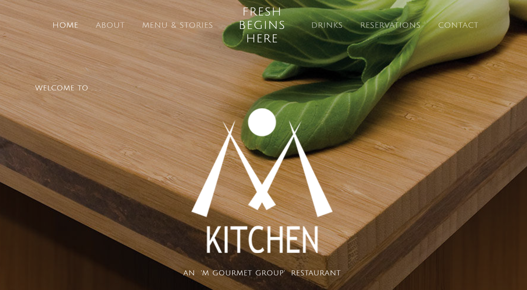 M Kitchen - Fresh. Healthy. Local.Featuring a full menu, food photos, online reservations and more!