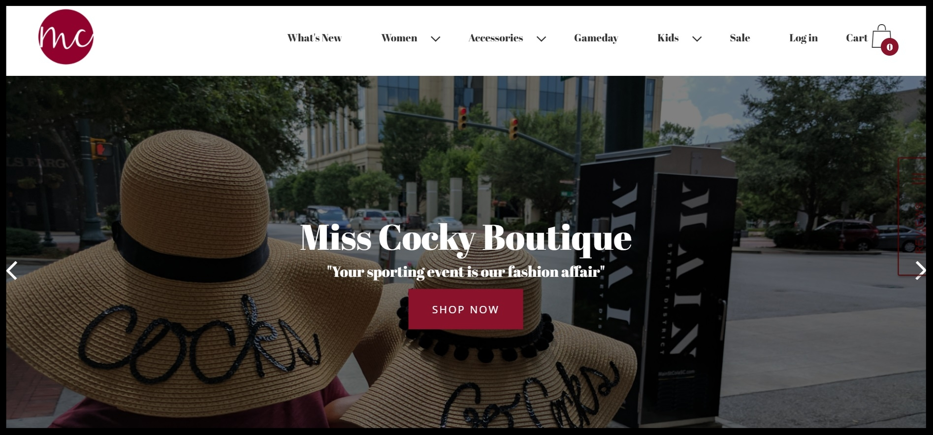 Miss Cocky Boutique - The Original Gameday Boutique!