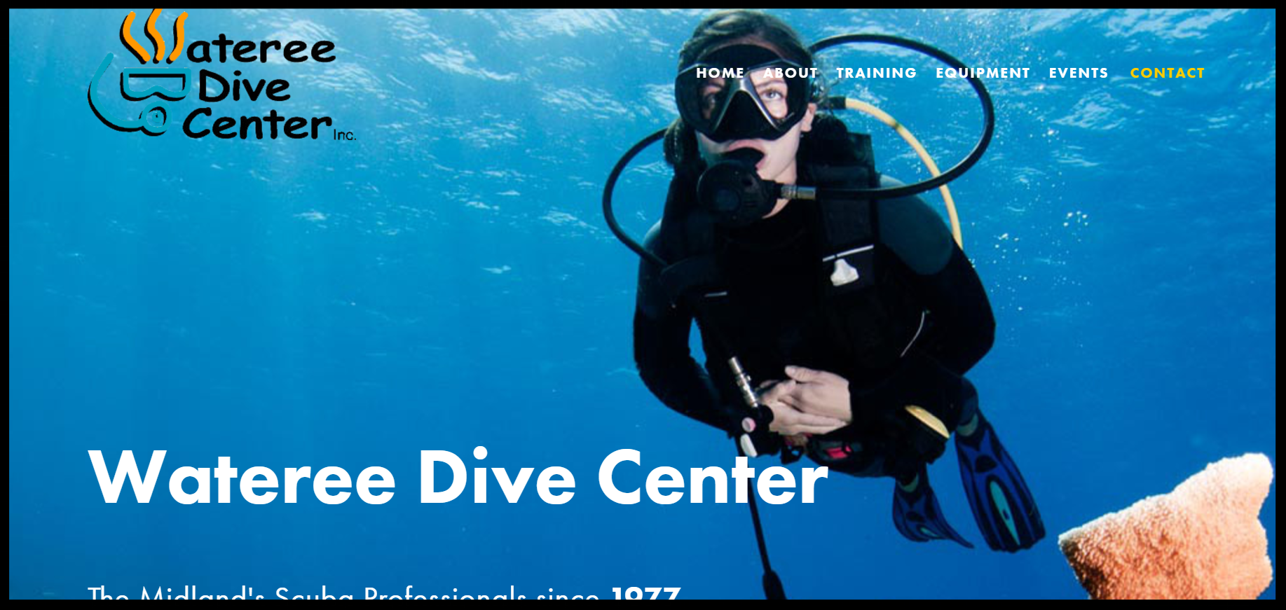 Wateree Dive Center - From online training to class and event registration, WDC's got it.