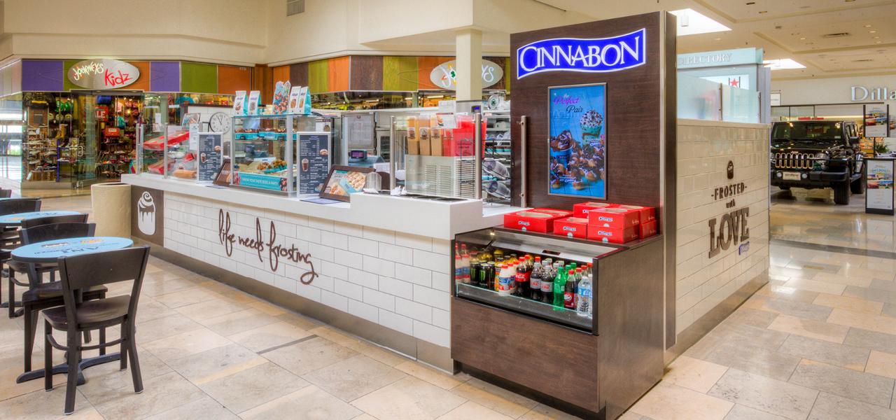 Interiors   Cinnabon at North Star Mall   See Project