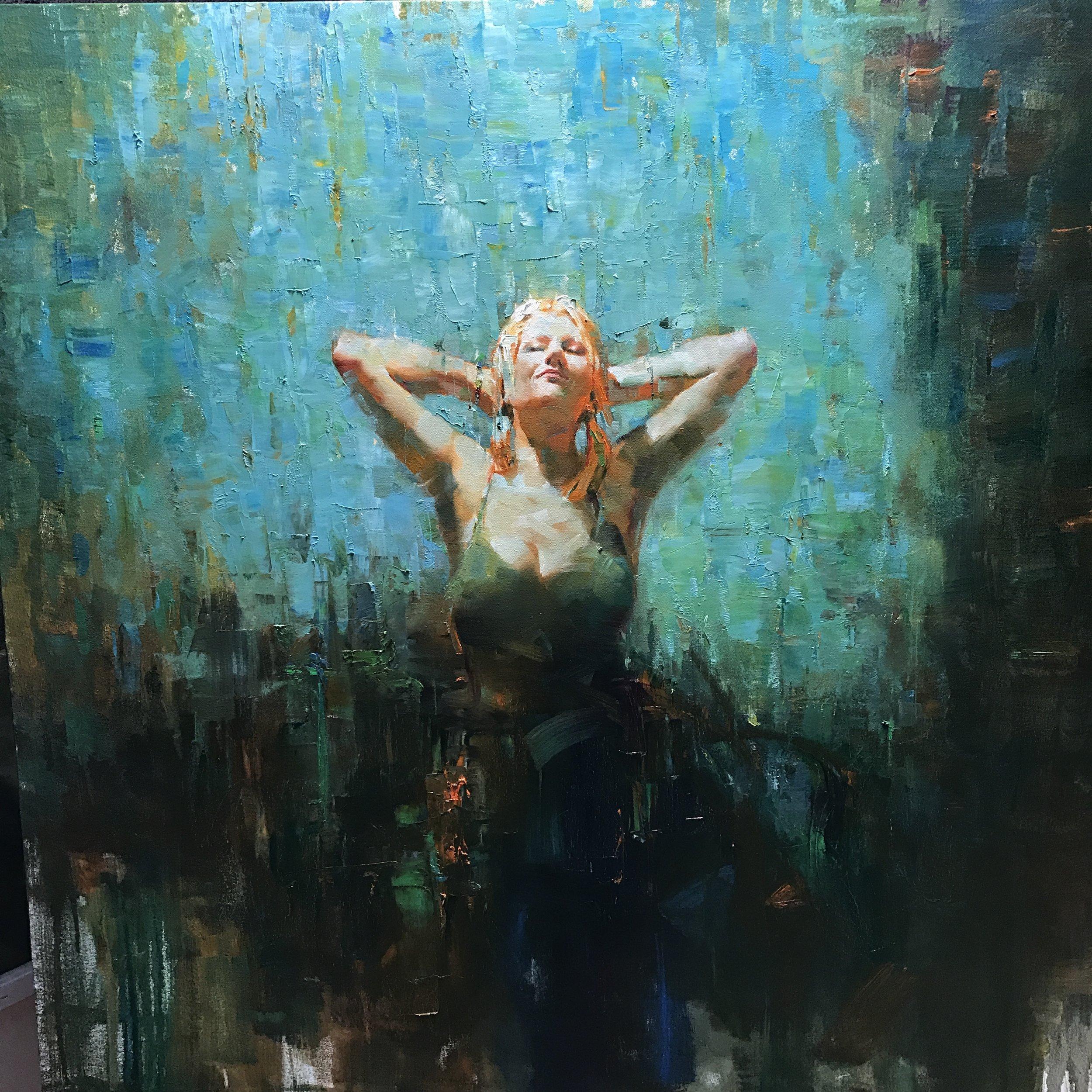 "36""x36""  Oil on Canvas"