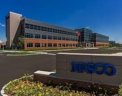 MASCO sales up 8 percent. -