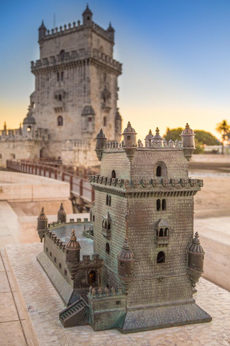 miniature-replica-belem-tower-torre-sunset-evening-dusk-light-photography-travel-amalia-bastos.jpg