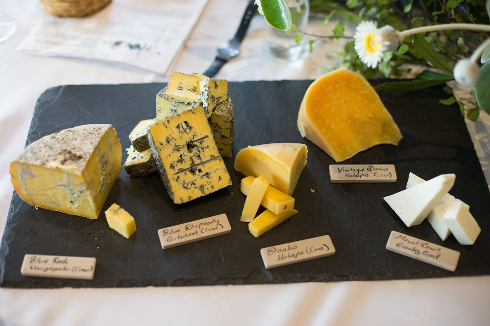 Fabulous Cheese Board at Juliet Harbutt's