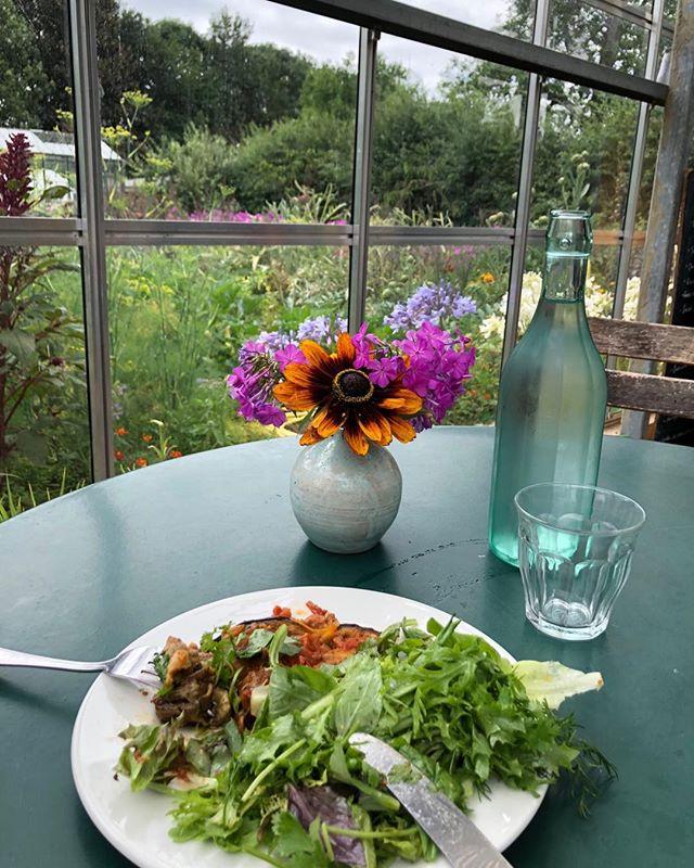 My favourite place to eat in England - Worton Organic near Oxford #loveorganic #loveoxford