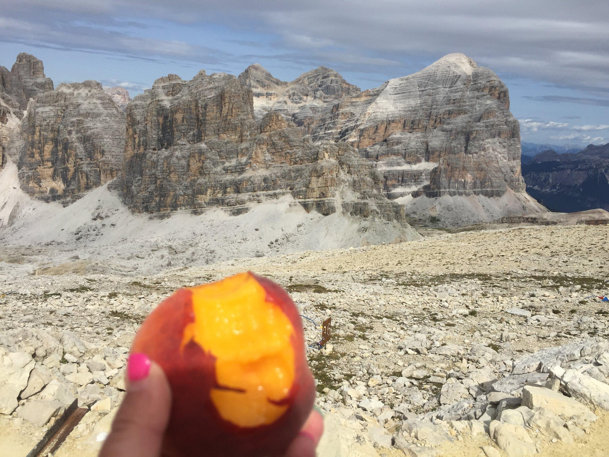 THE peach to end all peaches!