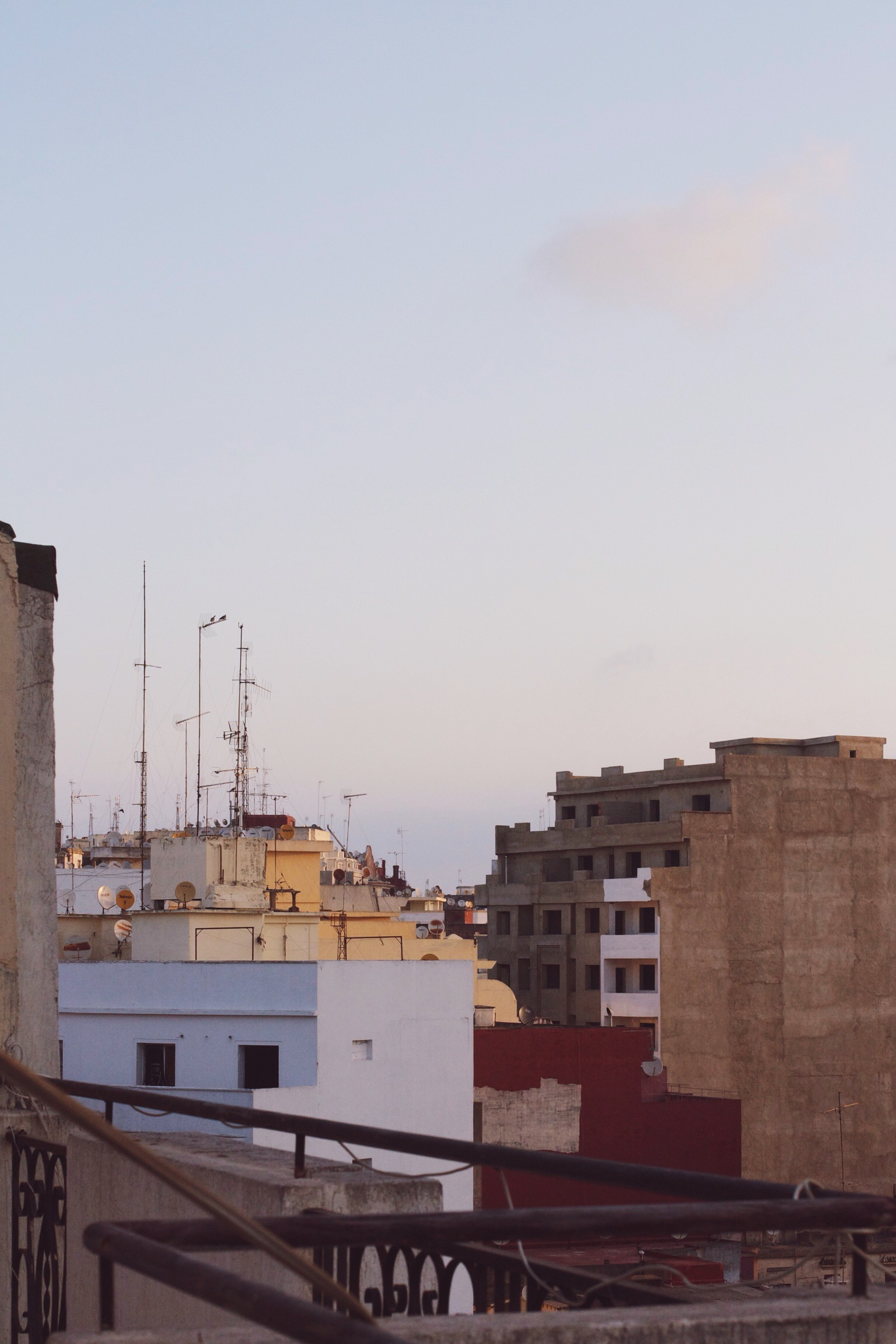 Early morning in Tangier, Morocco | Ruby Josephine