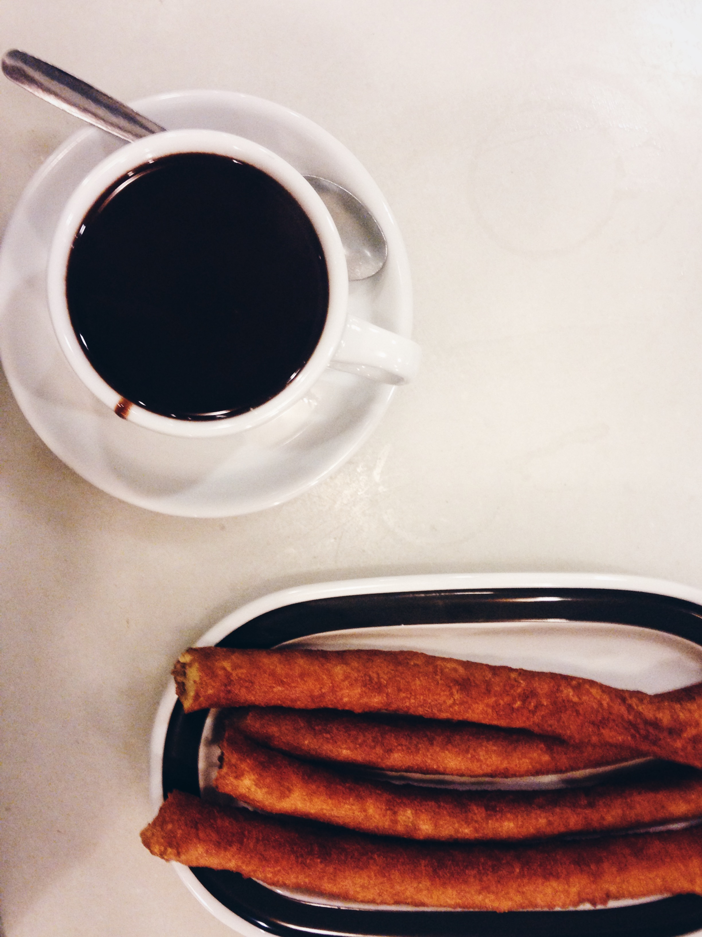 Churros in Madrid | Ruby Josephine