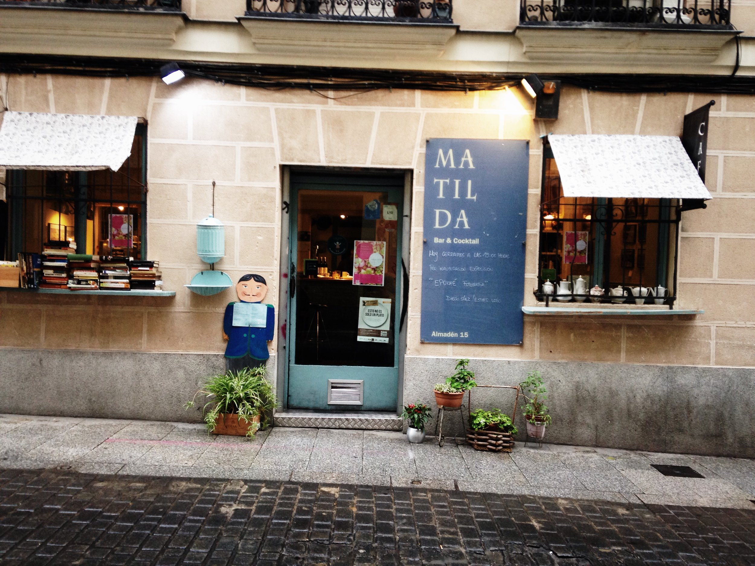 Cafe Matilda, Madrid | Ruby Josephine