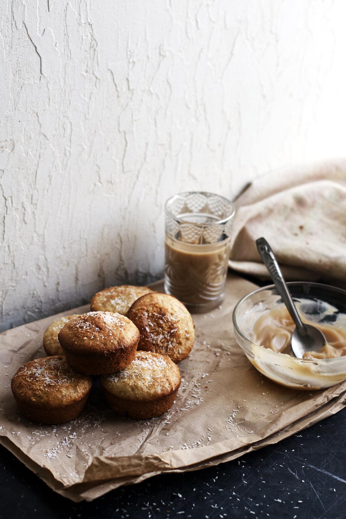 Coconut Dulce de Leche Muffins (dairy-free)   Ruby Josephine
