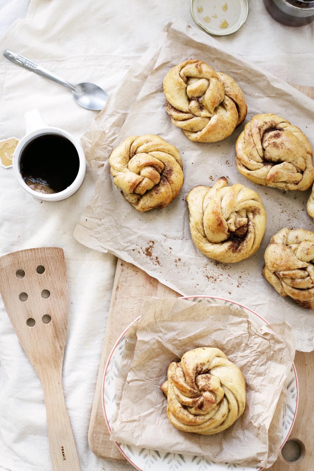 Honey Butter Cardamom Buns | Ruby Josephine