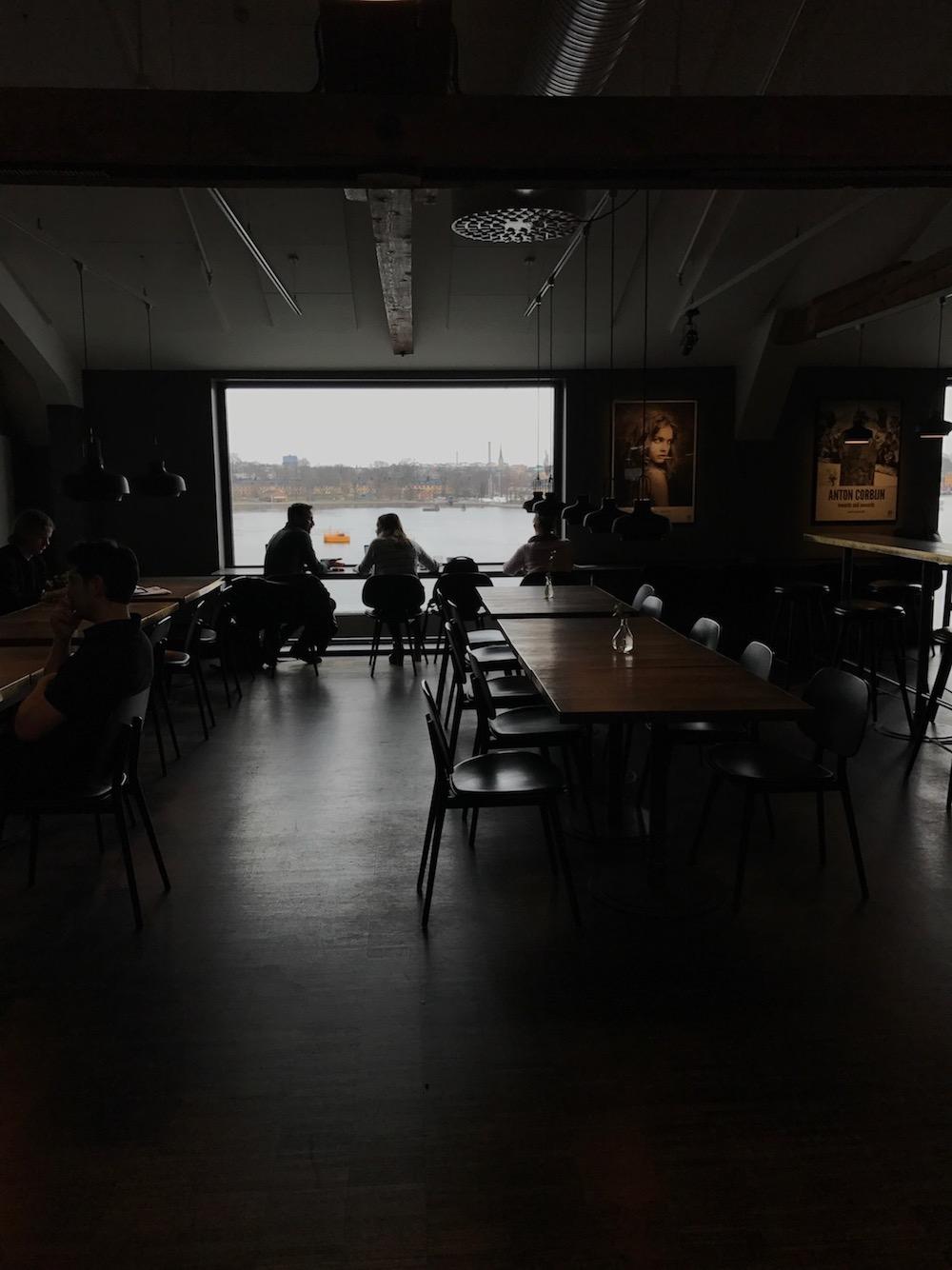 Cafe in Fotografiska