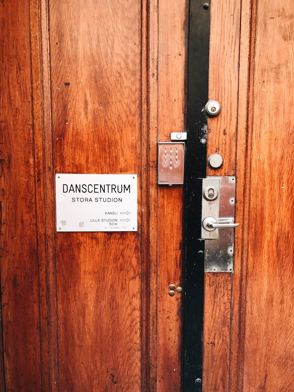 Dancecentrum | Snapshots from Stockholm | Ruby Josephine