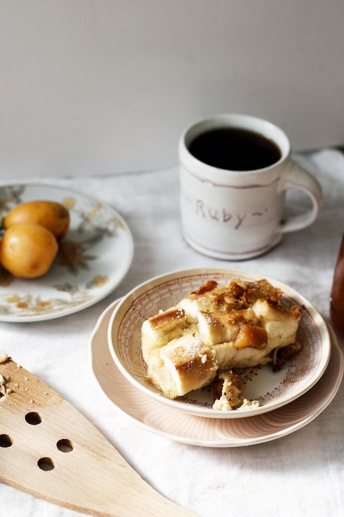 Gingered Loquat French Toast Bake   Ruby Josephine