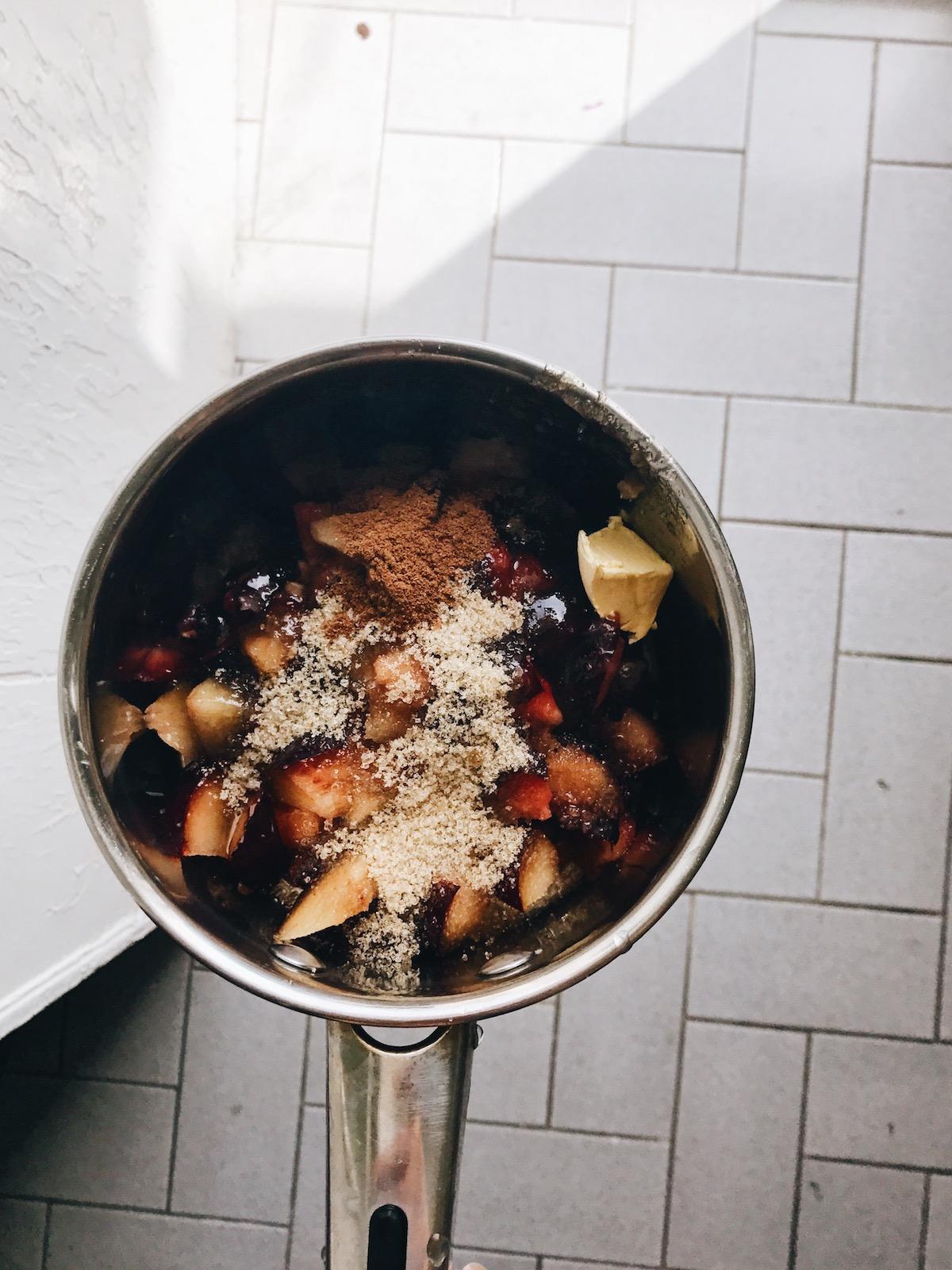 Brown Sugar Plum Challah Buns | Ruby Josephine