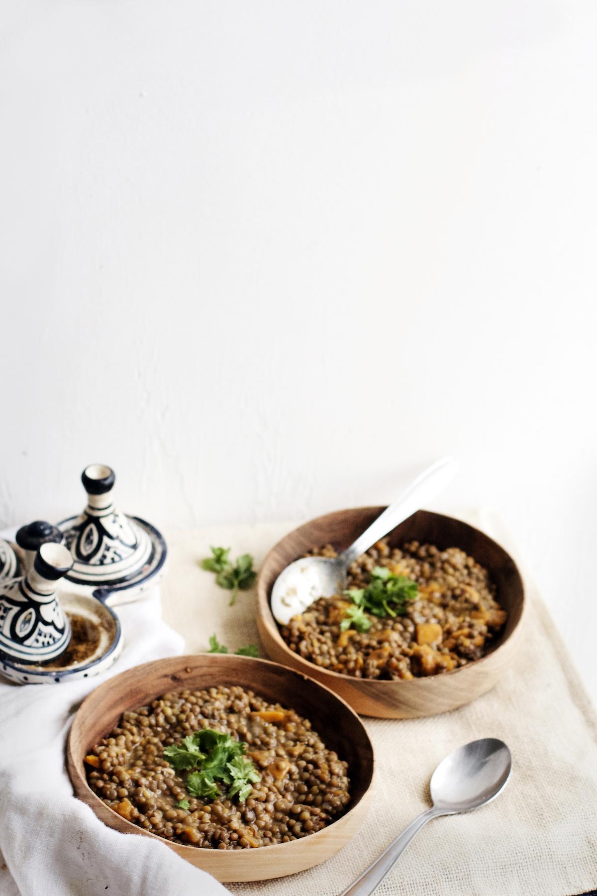 Super Cozy Sweet Potato Lentil Stew (vegan + gluten-free)   Ruby Josephine