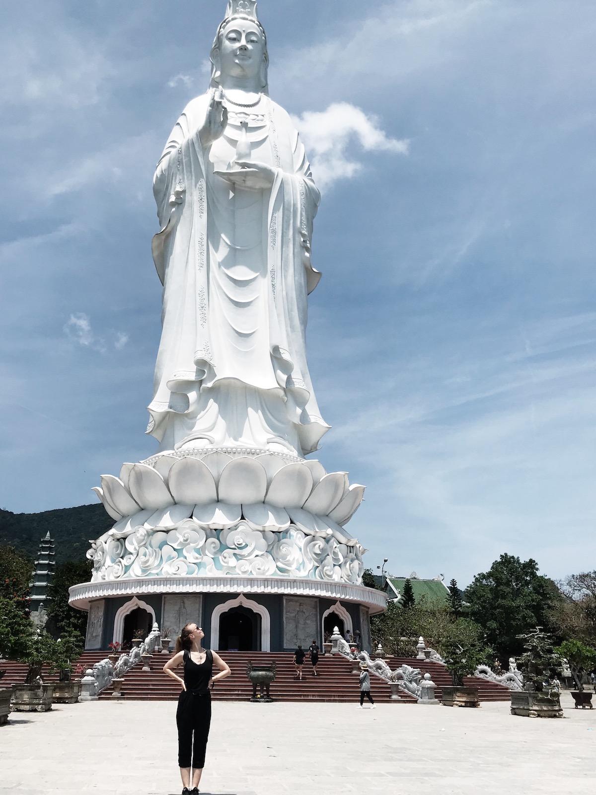Chùa Linh Ứng, Son Tra, Da Nang, Vietnam Travel Diary | Ruby Josephine