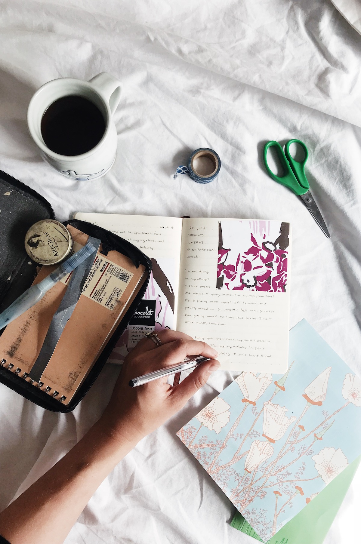 How to Cultivate a Journaling Practice (and stick to it) | Ruby Josephine