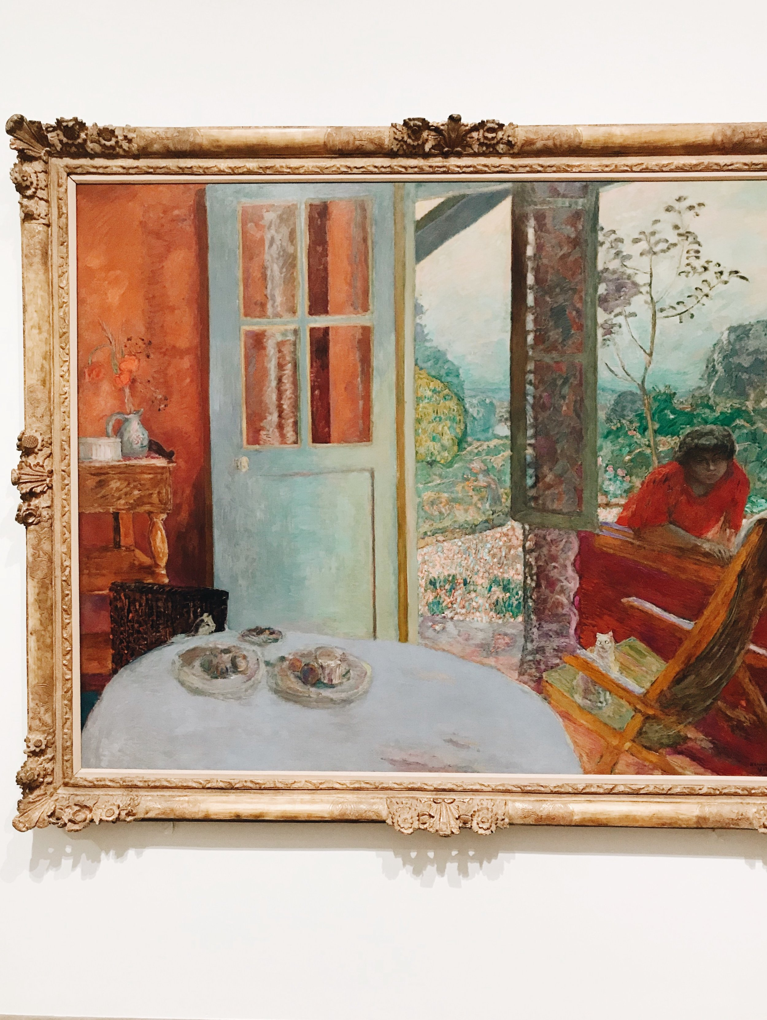 Dining Room in the Country, 1913 by Pierre Bonnard.