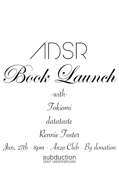 ADSR Book Launch
