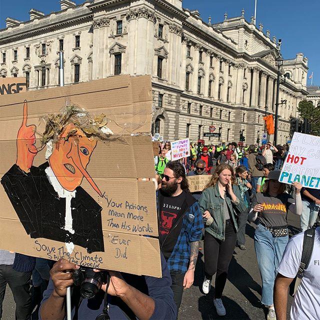 Today, we march. @globalclimatestrike #climatestrike #climatechange #extinctionrebellion #changenow #climatechangeisreal