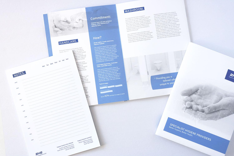A5 Folding Brochure