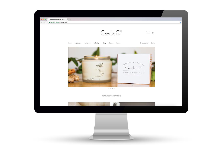 Camille Co. Ecommerce Website Design