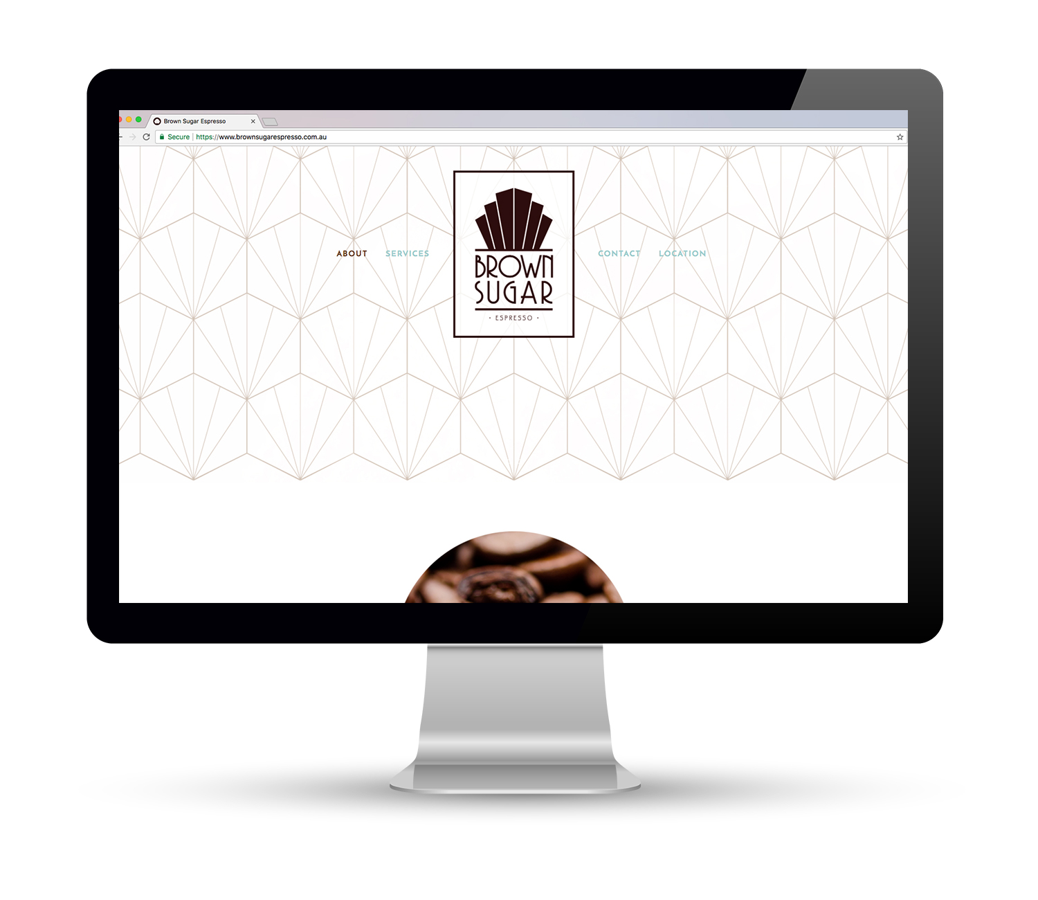 Brown Sugar Espresso Website Design