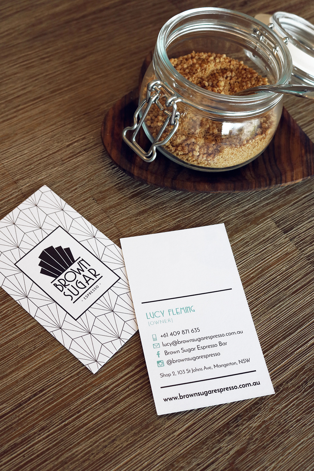 Business Cards for Lucy by Design by Cheyney