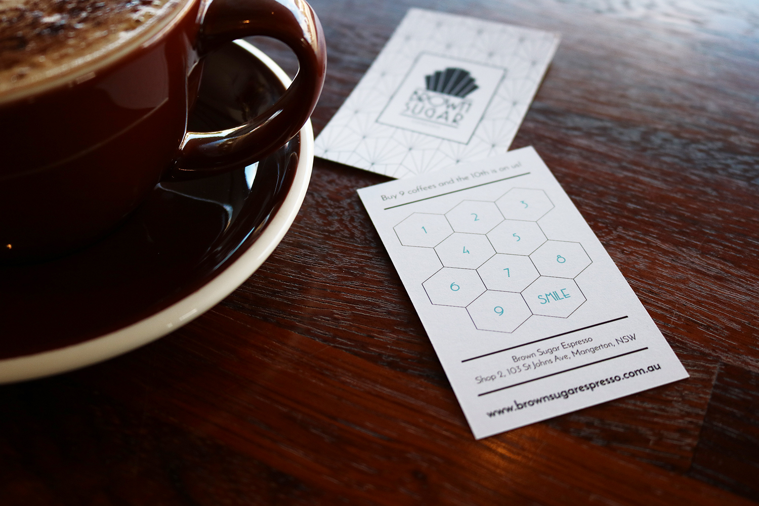 Brown Sugar Espresso Loyalty Cards