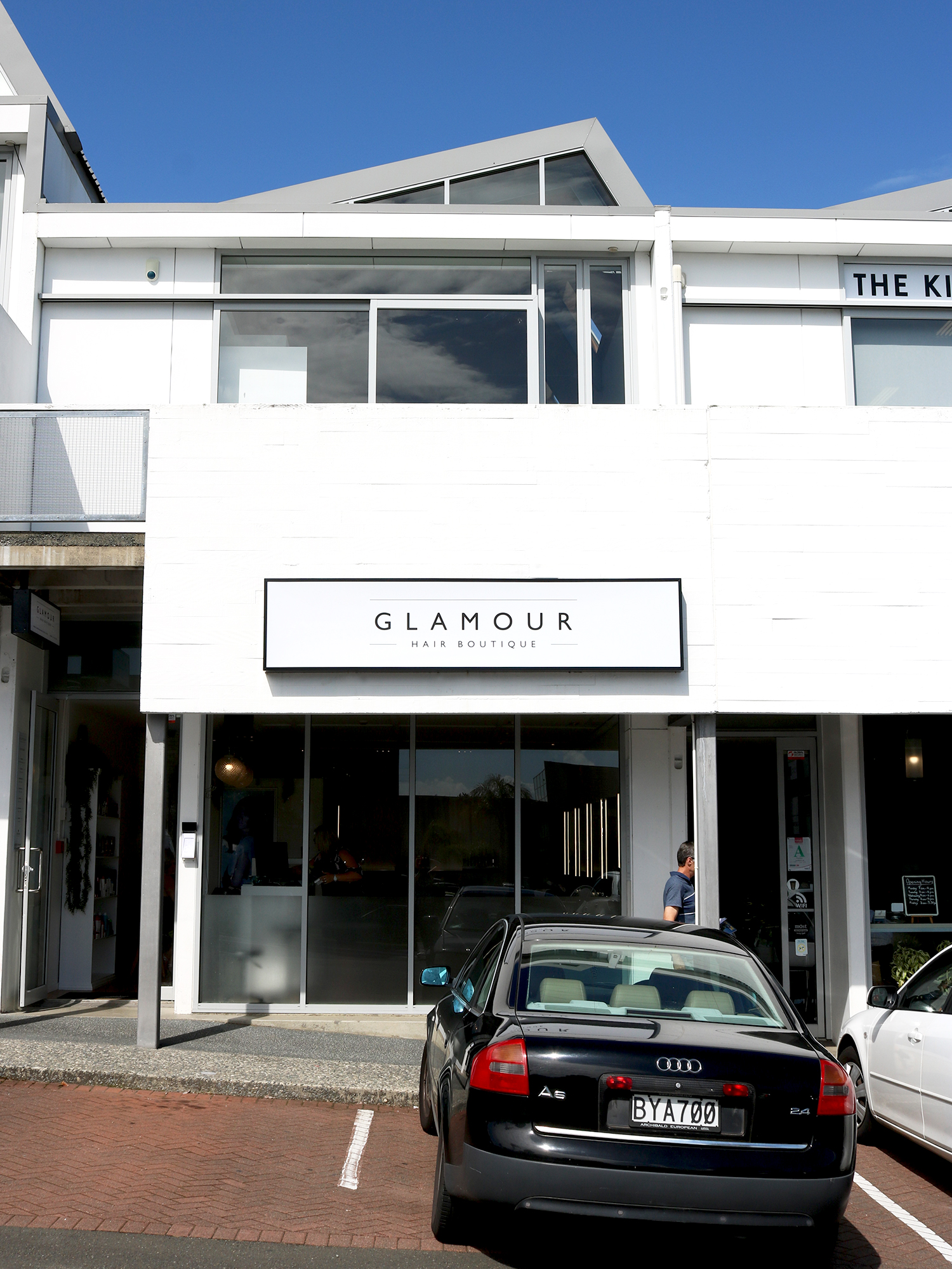 Glamour Hair Boutique Exterior Signage