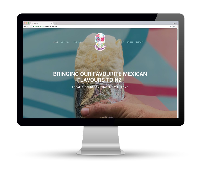 Gringas Website