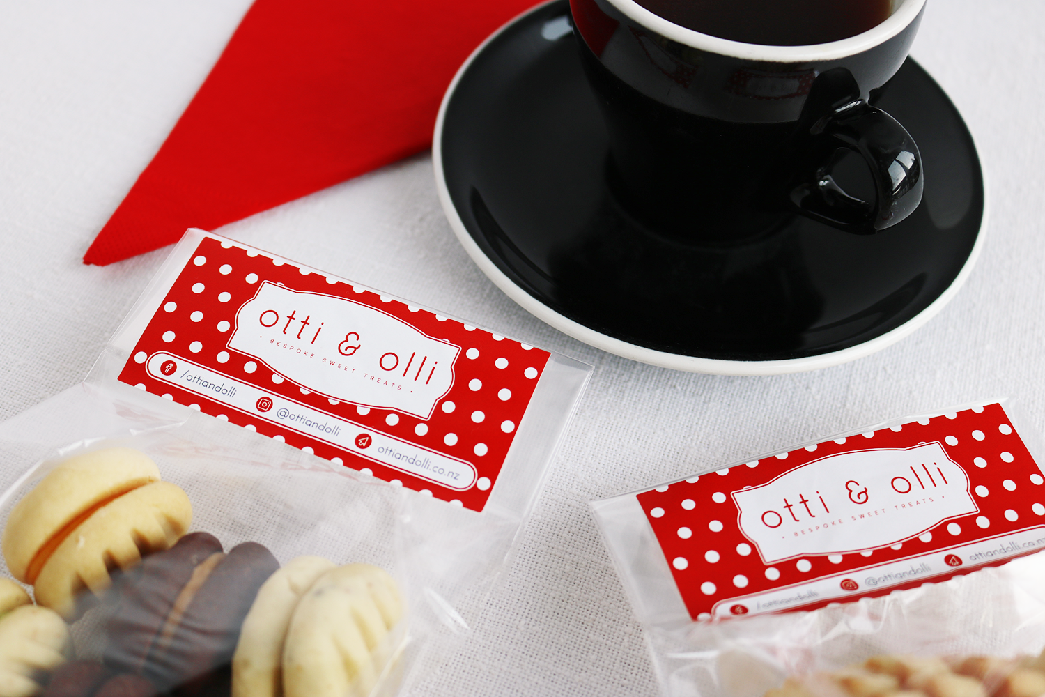 Otti & Olli Packaging Label Design