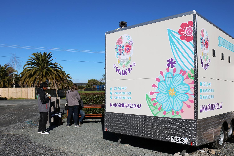 Gringas Food Truck Artwork Side