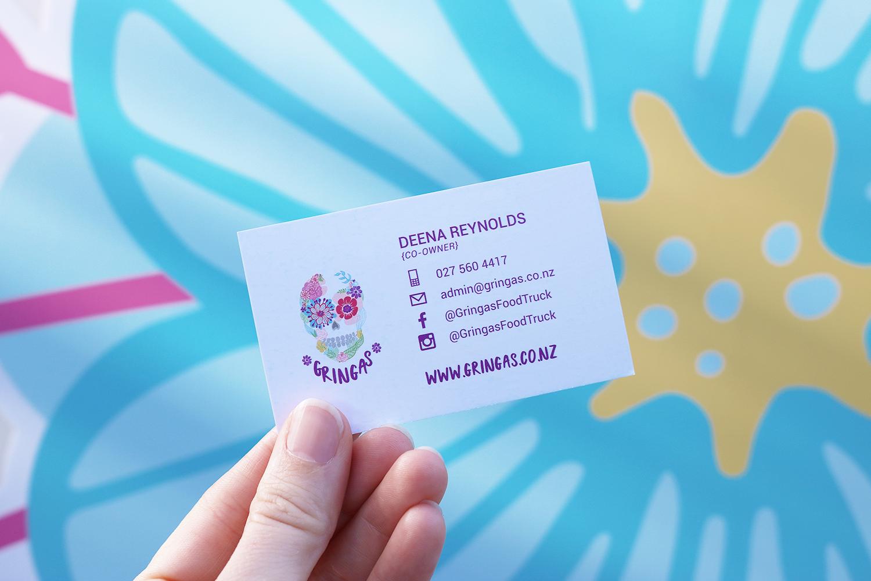 Gringas Business Card Design