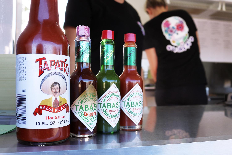 Hot sauce line-up