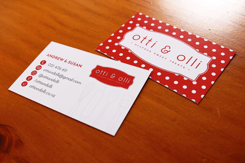 Otti & Olli Business Cards