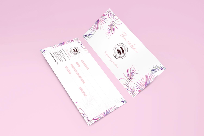 Maison Du Sourcil DL Printed Gift Voucher