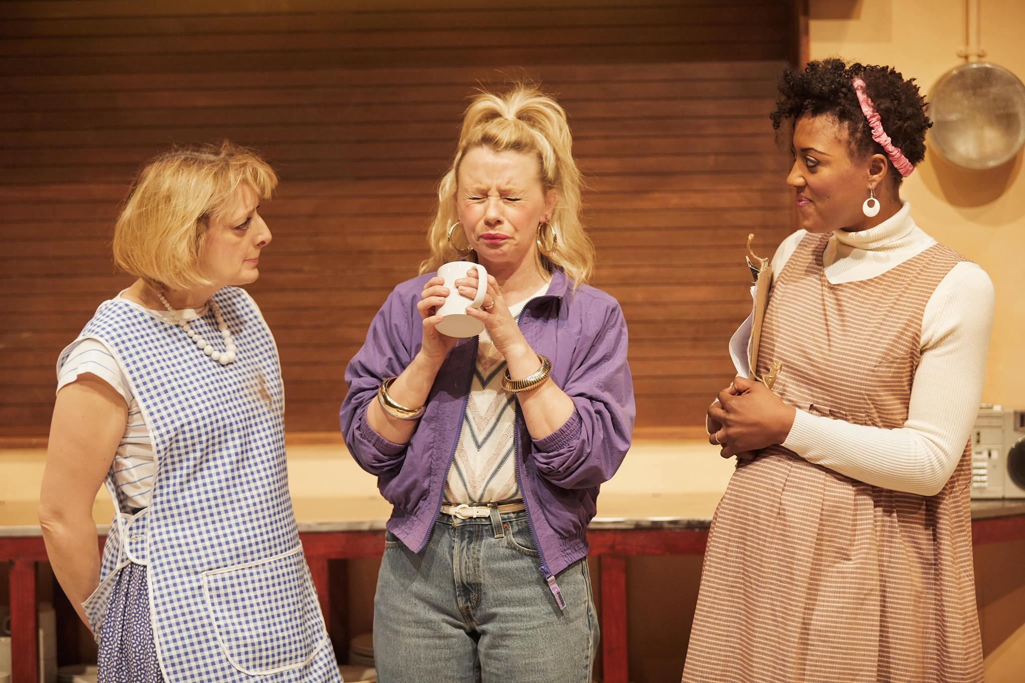 Chicken Soup. - Sheffield Crucible - Judy Flynn, Sam Power, Simone Saunders