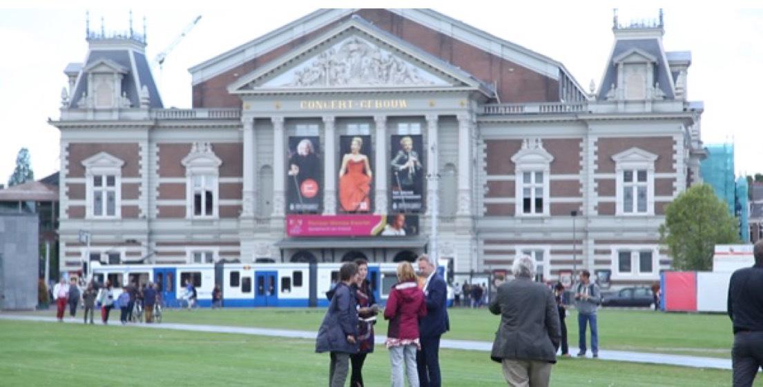 Museumplein, Amsterdam
