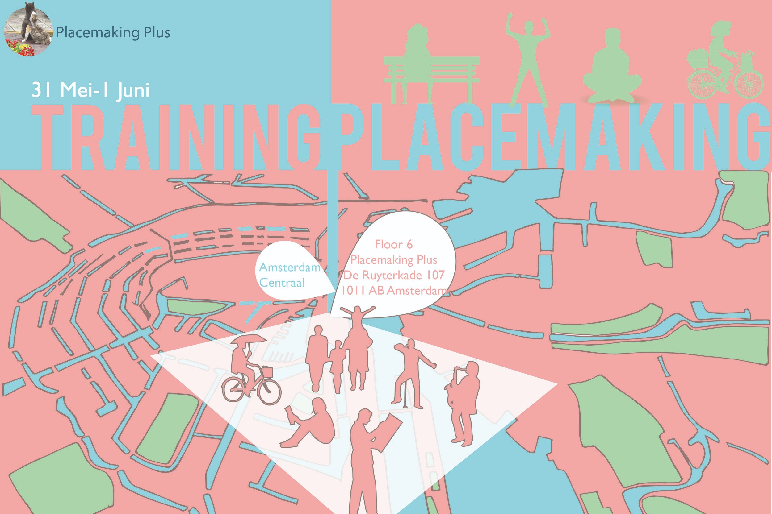 Training Placemaking - 31 Mai and 1 June 2018