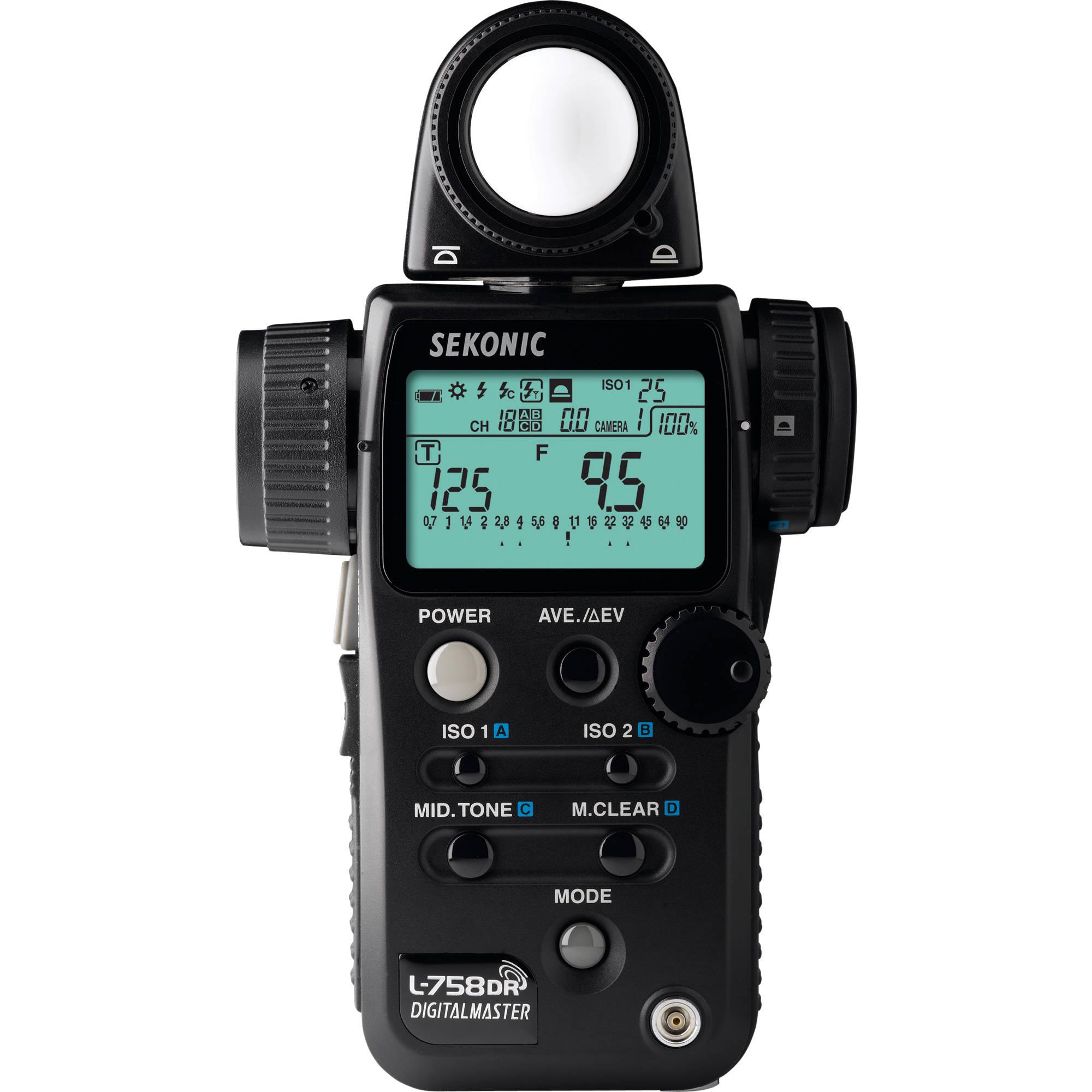 Sekonic L-508 Flashmeter - 15€/Day