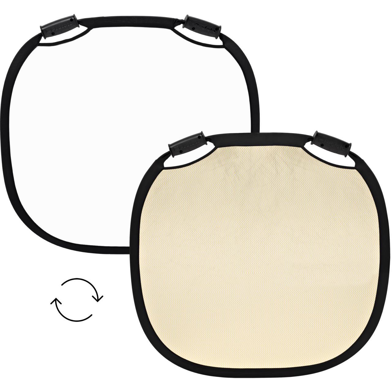 Profoto Collapsible Reflector White/Sunsilver L - 8€ Day/Unit