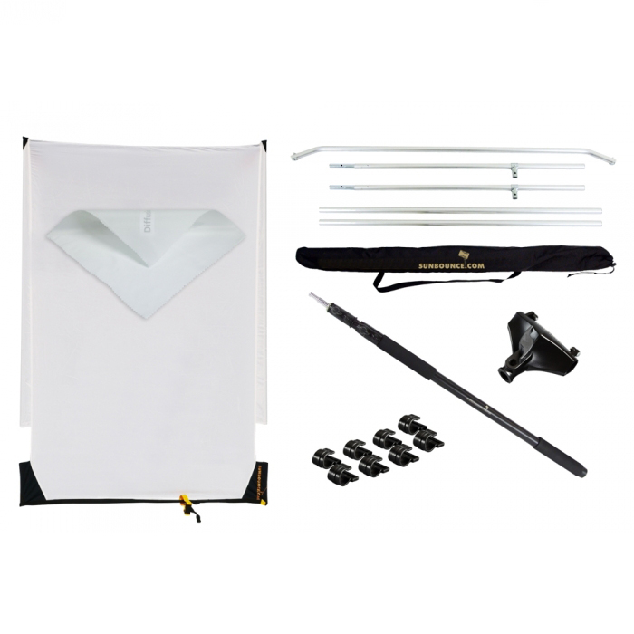 Sunbounce Sun-Swatter Pro Super Saver Kit Translucent -2/3rd and -1/3rd (130x190cm) - 35€/Day