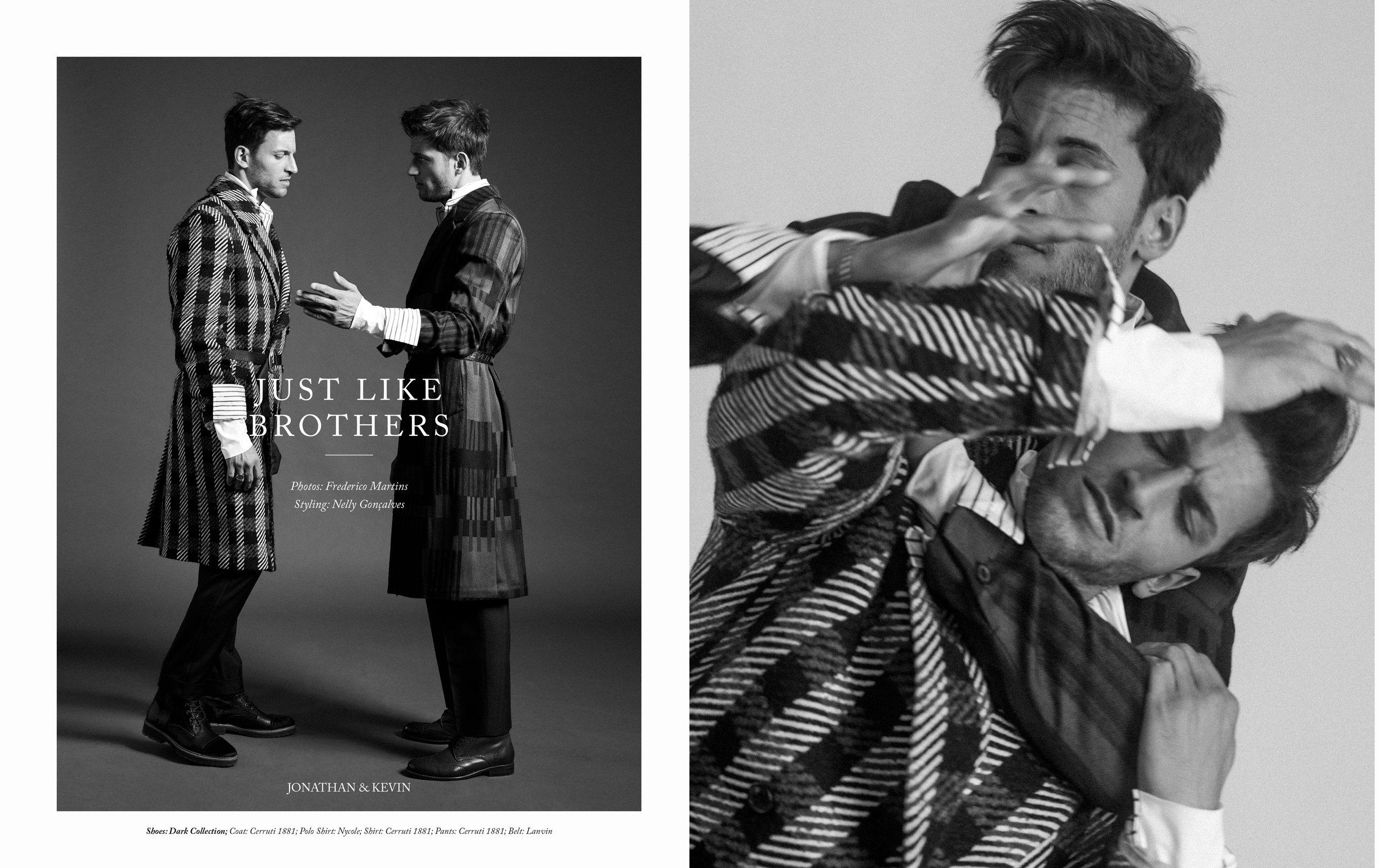 Just Like Brothers, Frederico Martins, Kevin Sampaio, Jonathan Sampaio, Twins, Lalaland